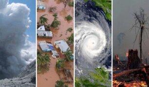 Estas son las catástrofes naturales más devastadoras en 2019