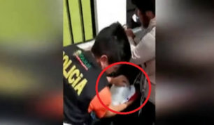 Breña: hallan droga camuflada en asiento de motocicleta