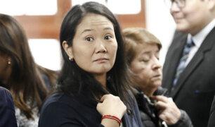 Procuraduría presentó denuncia contra Keiko Fujimori por tráfico de influencias
