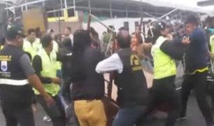 Av. Tomás Valle: ambulantes piden que municipio los deje trabajar por estas fechas navideñas