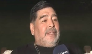 """Maradona tras su desaparición de tres días: """"me llevaron los ovnis"""""""