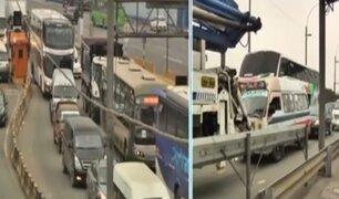 Ramiro Prialé: ampliarán dos casetas de atención para agilizar el tránsito