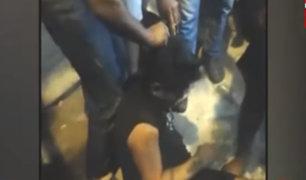 Iquitos: turba de vecinos captura y golpea a presuntos ladrones