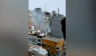 Reportan amago de incendio en alrededores de Gamarra