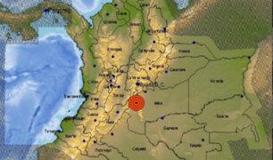 Sismo de 6,2 remeció a Colombia esta tarde