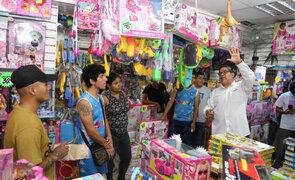 Cercado de Lima: Sunafil inspeccionó galerías de Mesa Redonda