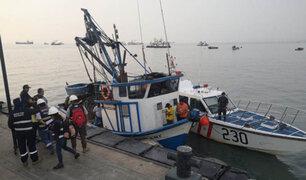 Produce interviene embarcación de pesca ilegal frente al Callao