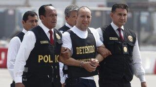 Adolfo Bazán llegó a Lima con fuerte custodia policial