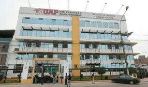 Sunedu: Universidad Alas Peruanas no logró licencia institucional