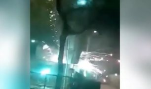 Cañete: artefacto pirotécnico estuvo a punto de incendiar casa