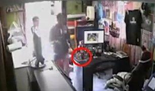 Cusco: delincuentes aprovecharon inocencia de niña para robar en bodega