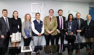 Delegación de la Unión Europea se reunió con funcionarios de la ONPE