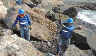 Retiran más de 700 toneladas de escombros y desmontes de playas miraflorinas