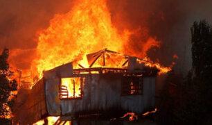 Chile: autoridades no descartan que incendio de Valparaíso haya sido intencional