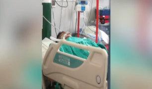 Joven quedó en coma tras ser asaltado y golpeado con ladrillo en la cabeza