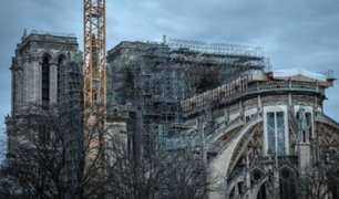 Al rescate de Notre Dame: en febrero iniciará desmantelamiento del andamiaje