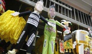 Piñatas de Pedro Gallese y Christian Domínguez son las más vendidas por Año Nuevo