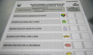 ONPE terminó impresión de cédulas para peruanos en el extranjero