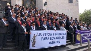 Huelga de jueces agudiza carga laboral en el PJ y afecta a cientos de litigantes