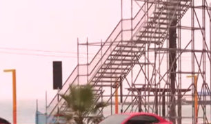 Costa Verde: obras inconclusas perjudican libre acceso de veraneantes a playas