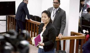 Keiko Fujimori: continúa última audiencia por pedido de prisión preventiva