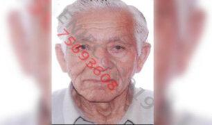 Buscan a un anciano de 85 años desaparecido en el Callao