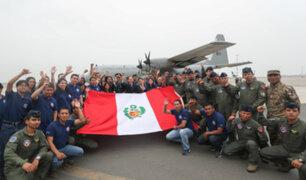 Avión de la FAP parte a la Antártida a integrarse en misión científica