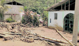Deslizamiento en Junín deja una mujer desaparecida y dos heridos