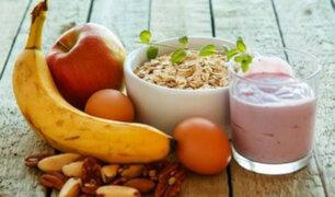 Desayunos ligeros y saludables para iniciar este Año Nuevo