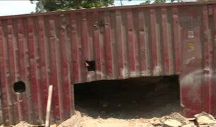 Chorrillos: container divide a vecinos de urbanización y condominio