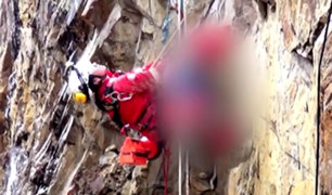 Cajamarca: hallan cadáver de menor que cayó a socavón de mina