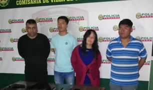 VES: capturan a banda de 'raqueteros' que robaba en mototaxi
