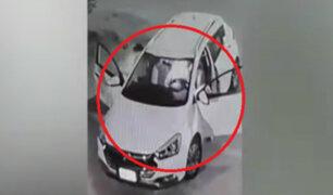 Falsos pasajeros asaltaron a taxista en San Martín de Porres