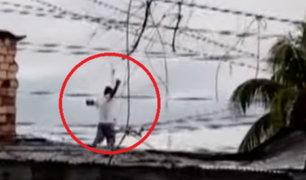 Iquitos:  sujeto que agredió a su pareja fue capturado