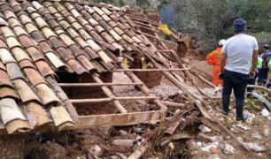 Junín: caída de huaico dejó una persona desaparecida