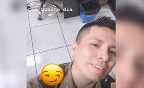 Abren proceso disciplinario a policía que grabó partes íntimas de su colega