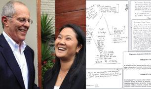 Keiko Fujimori: documentos que tenía de PPK complicarían su situación legal
