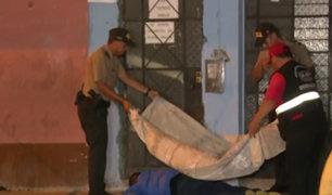 SMP: hombre es asesinado a balazos tras resistirse a robo