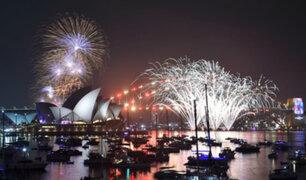 Año Nuevo en Australia: así celebraron la llegada del 2020