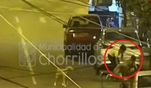 Chorrillos: detienen a avezado ladrón que robó celular