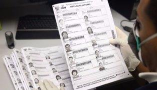 Elecciones 2020: ONPE imprimió más de 84 mil actas para los comicios de enero