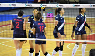 Selección Peruana de voleibol derrotó por segunda vez a Puerto Rico en su gira