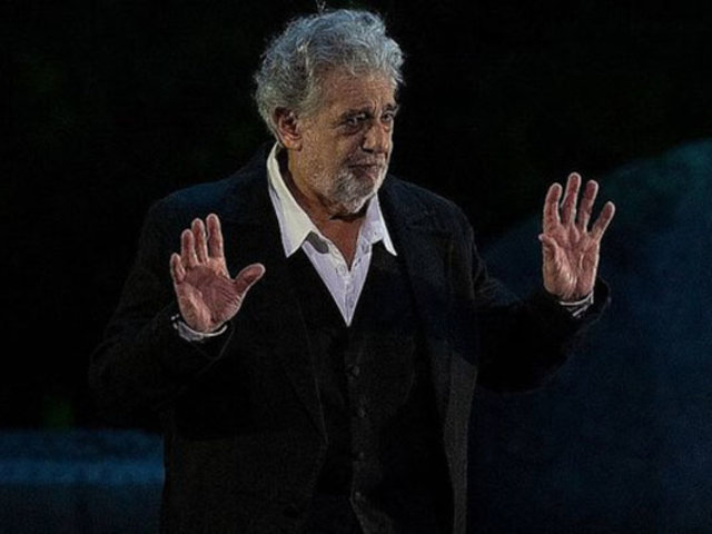 Plácido Domingo habló sobre las denuncias de acoso sexual en su contra
