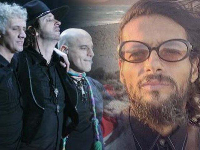 Draco Rosa participará también de la gira de Soda Stereo
