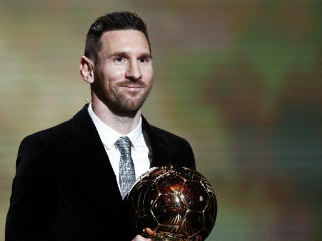 Lionel Messi gana el sexto Balón de Oro de su carrera