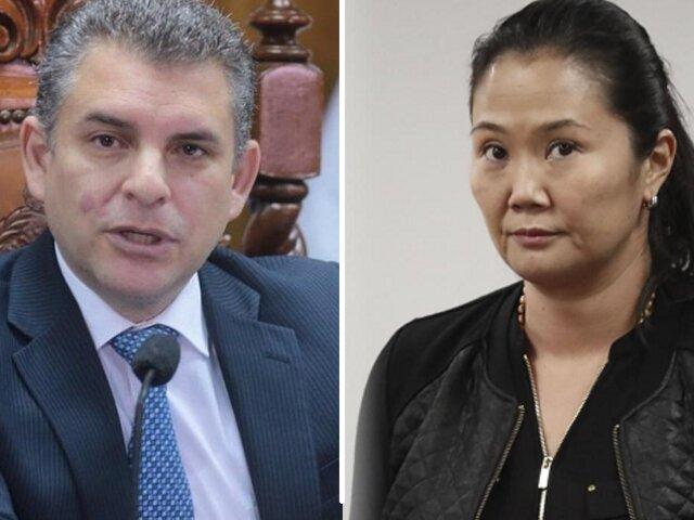 """Rafael Vela sobre Keiko: """"Hay riesgo de fuga y obstaculización para el MP"""""""