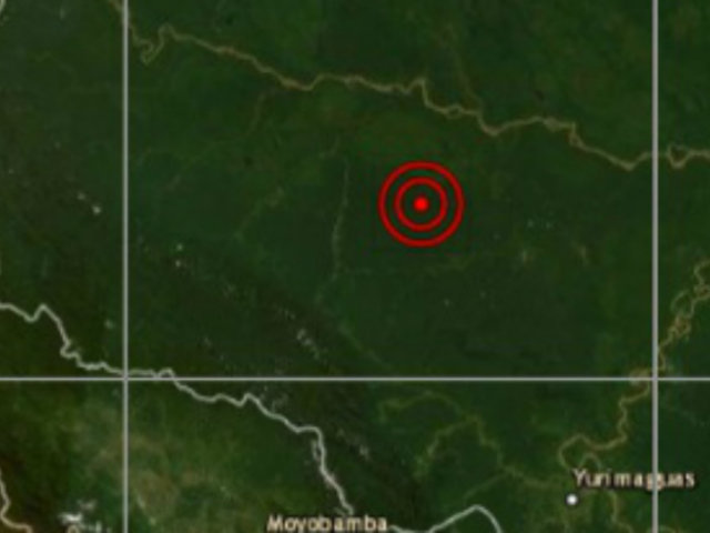 Sismo de magnitud 4,2 remeció Loreto esta tarde