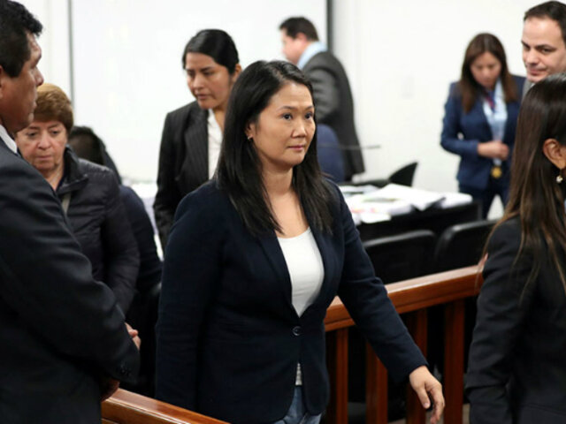 Keiko Fujimori: este viernes reanudan audiencia de pedido de prisión preventiva