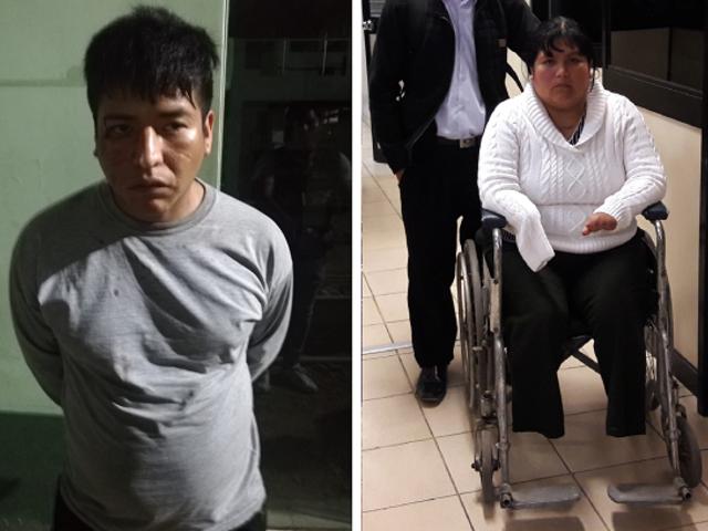 Cae delincuente que robó mototaxi a Kelly Sayhua, mujer víctima de negligencia médica