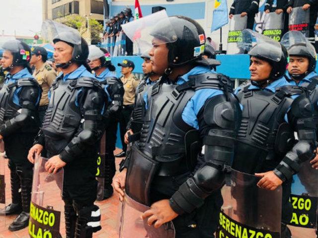 Callao: 'Robocops' saldrán a resguardar calles para combatir la inseguridad ciudadana